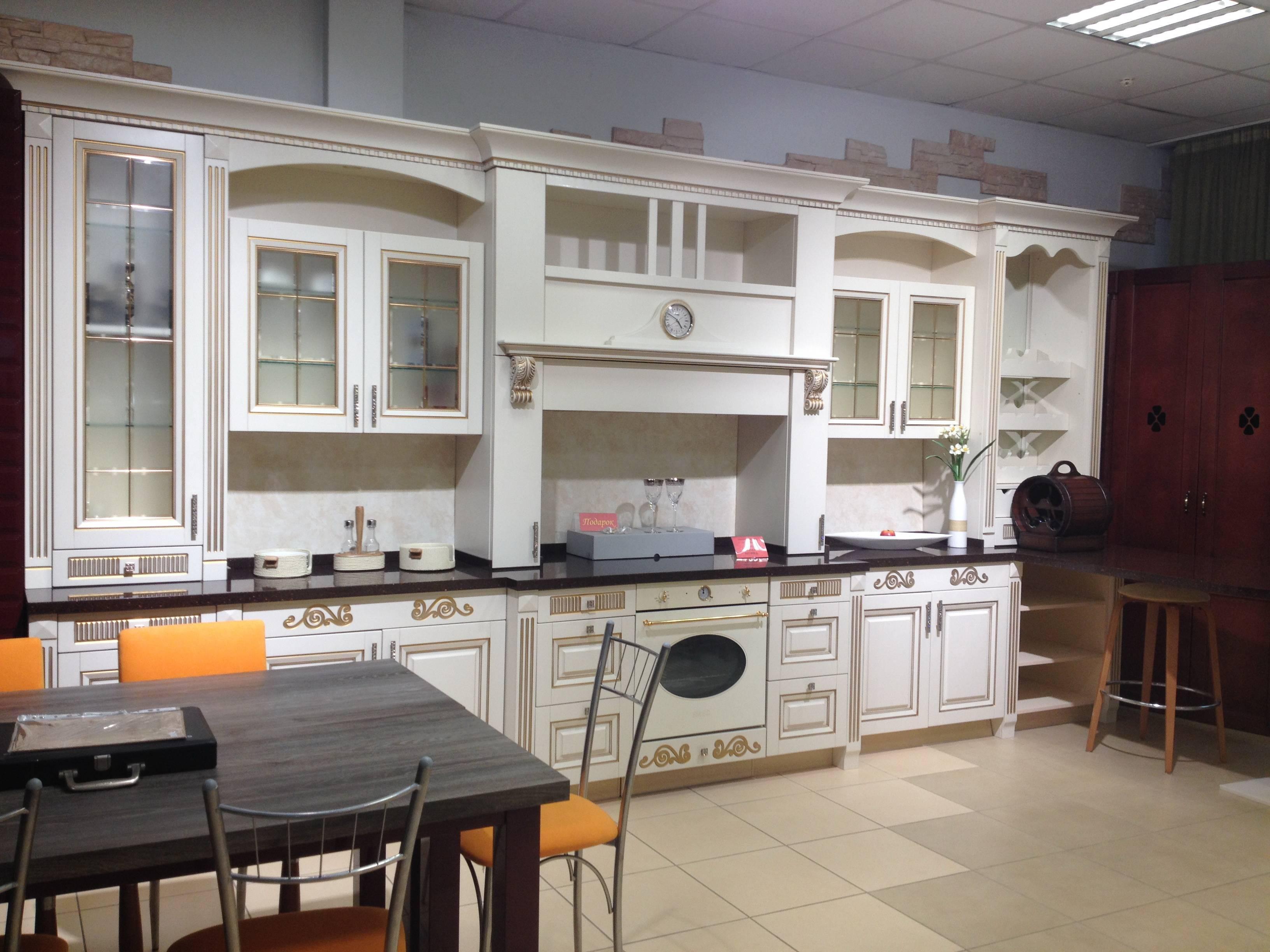 Распродажа выставочных образцов немецких кухонь купить в москве.